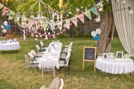 Backyard Birthday Party Ideas Outdoor Decoration Image Idea