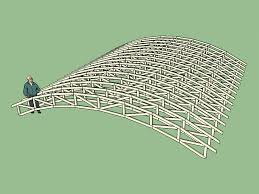 104 Bowstring Truss Design Roof
