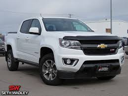 Used 2017 Chevy Colorado Z71 4X4 Truck For Sale Ada OK - JT664