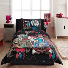 monster high bed in a bag bedding ideas kid room rabelapp bedroom