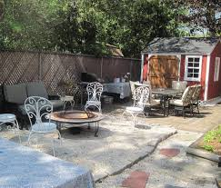 EXTERIOR DESIGN: Charming Pea Gravel Patio Design With Iron Chairs ... Add Outdoor Living Space With A Diy Paver Patio Hgtv Hardscaping 101 Pea Gravel Gardenista Landscaping Portland Oregon Organic Native Low Maintenance Pea Gravel Rustic With Firepit Backyard My Gardener Says Fire Pits Inspiration For Backyard Pit Designs Area Patio Youtube 95 Ideas Bench Plus Stone Playground Where Does 87 Beautiful Yard In Your How To Make A Inch Round Rock And Path Best River 81 New Project