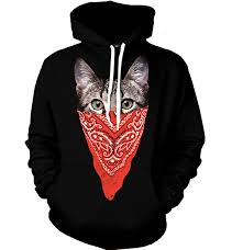 cat hoodies gangsta cat hoodie all print apparel getonfleek
