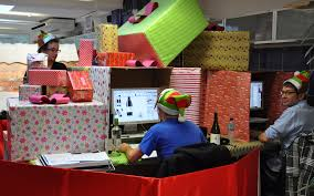 Office Christmas Decorating Ideas For Work by Christmas Decoration Competition Rainforest Islands Ferry