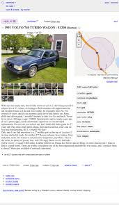 100 Craigslist Vt Cars And Trucks By Owner At 1200 Is This 1991 Volvo 740 Turbo Wagon The Winter Beater To Beat