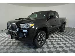 New 2018 Toyota Tacoma TRD Sport Access Cab 6' Bed V6 4x4 MT (Natl ... Preowned 2016 Toyota Tacoma Trd Sport 4d Double Cab In Yuba City Tundra Truck Fender Bars Hash Mark Racing New 2018 4 Door Pickup Sherwood Park San Jose T1824 Core 2015 2017 Pro Lower Rocker Sports 800 Wikipedia 6 Bed V6 4x4 Automatic Storm Upper Body Off Road Chilliwack