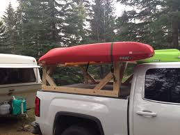 100 Kayak Rack For Pickup Truck Homemade Canoe S S Home Design