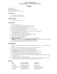 Resume Sample For High School Valid