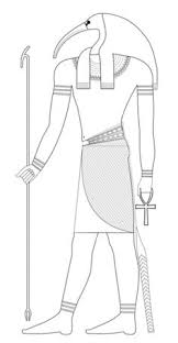 Thoth Coloring Page Ancient Egypt Pages