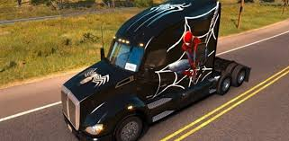 Kenworth T680 Spiderman Skin | American Truck Simulator Mods | ATS ... 12 Scale Marvel Legends Shield Truck Vehicle Spiderman Lego Duplo Spiderman Spidertruck Adventure 10608 Ebay Disney Pixar Cars 2 Mack Tow Mater Lightning Mcqueen Best Tyco Monster Jam For Sale In Dekalb County Popsicle Ice Cream Decal Sticker 18 X 20 Amazoncom Hot Wheels Rev Tredz Max D Coloring Page For Kids Transportation Pages Marvels The Amazing Newsletter Learn Color Children With On Small Cars Liked Youtube Colours To Colors Spider Toysrus