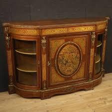 anrichte möbel aus holz kommode antik boulle stil wohnzimmer