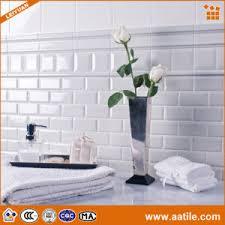 china waterproof 3 x6 white glazed ceramic bathroom wall tiles