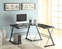 Walker Edison 3 Piece Contemporary Desk Multi the best gaming computer desk in 2016 openhandtype