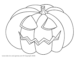 Pumkin Halloween Coloring Pages