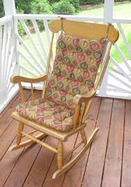 100 The Gripper Twill 2 Pc Rocking Chair Pad Set Brightonandhove1010org