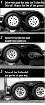 Diy Remove A Camper Jack by Amazon Com Trailer Aid Tandem Tire Changing Ramp The Fast And
