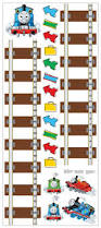 Thomas The Tank Engine Wall Decor by Thomas U0026 Friends Peel And Stick Growth Height Chart Best