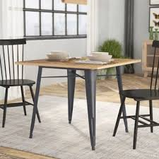 Spurling Metal And Wood Dining Table By Laurel Foundry Modern Farmhouse Sale