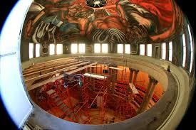 inicia intervención de los murales de orozco en el paraninfo
