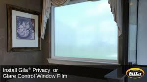 Artscape Decorative Window Film by Install Gila Privacy Control Or Glare Control Window Film Youtube