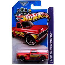 100 69 Chevy Truck Pictures Amazoncom Hot Wheels HW Showroom Custom Pickup Red
