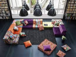 mah jong canapé sectional fabric sofa mah jong missoni home by roche bobois design