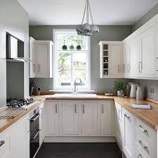U Shaped Kitchen Decorating Ideas Photo