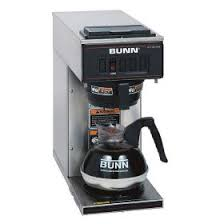 BUNN VPR 12 Cup Low Profile Commercial Pourover Coffee Maker With 1 Warmer