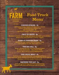 The Farm At Eastman's Corner - Food Truck Menu_JULY5LAUNCH Food Truck Caters Healthy Choices The Collegian What You Need To Know About Starting A Truck How Start Business In 9 Steps Select Theme For Your Restaurant Tampa Area Trucks For Sale Bay Online Pdf Own Prince Georges County Farms 10 Most Popular Food Trucks America Much Does Cost Operate Kumar Pinterest Mashup On Twitter From Our Sioux Falls Tyler And Kimberly Armstrong Simply Pizza Never Closed Fishermans Dog Fed Rockaway Set The