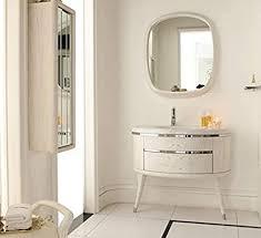 designwaschtisch luxus waschtisch marmor badmöbel spiegel