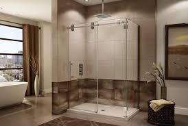 shower stall kits acrylic corner kohler inserts one tub