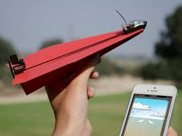 PowerUp Smartphone Controlled Paper Airplanes