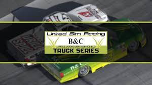 22: Richmond // United Sim Racing B&C Lawn & Landscaping Truck ...
