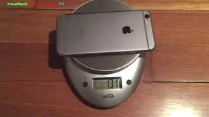 How Much Does The iPhone 6 Weigh
