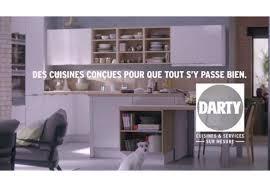 cuisine darty darty met ses cuisines en télévision vidéo