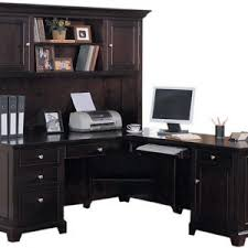 furniture corner computer desk with hutch for stylish office