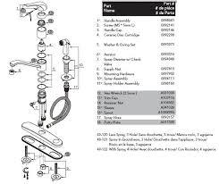 gerber 40 121 kitchen faucet parts