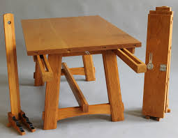 Cambridge Table Showing Extension Slides Leaves And Leaf Stand Dining