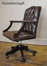 fauteuil bureau chesterfield chesterfield chesterfield fauteuils de bureau
