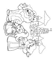 Download Dora The Explorer Coloring Pages 17 Print
