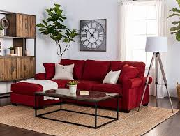 Country Rustic Living Room With Taren Sofa