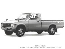 TOYOTA HILUX Diesel Long Body Super Deluxe (K-LN40-QFY) | TOYOTA ... Tiny Trucks In The Dirty South 1979 4wd Toyota Pretty I Primary Toyota Deluxe Truck Rn37 197981 Youtube Old Ads Chin On Tank Motorcycle Stuff Hilux Junk Mail Pickup Parts Car Stkr6671 Augator Sacramento Ca Another Safariroadster Tacoma Xtra Cab Post 2wd 20 Oldschool Offroad Rigs For Backcountry Adventure Flipbook Pick Up Truck Sale Classiccarscom Cc1079257 Sr5 Cc1055884 Dually Minis