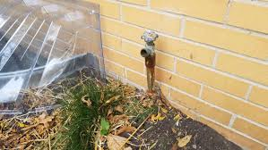 Leaking Outdoor Faucet Freezing by Plumbing Exterior Faucet Freeze Hazard Home Improvement