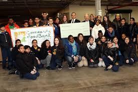 Hudson Reporter Golden Door Charter School Helps munity FoodBank