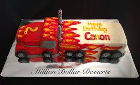 100 Semi Truck Cake By Million Dollar Desserts 2D3D S