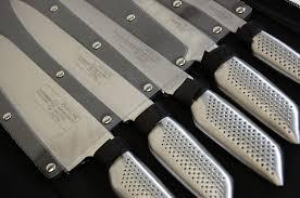 coffret couteau cuisine pochette couteaux 12 pieces inox pro schumann coutellerie topkoo