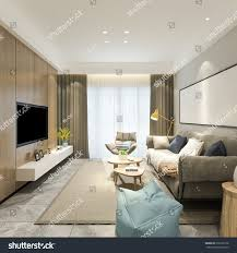 100 Sofa Living Room Modern Perspective Set Stock Illustration Royalty