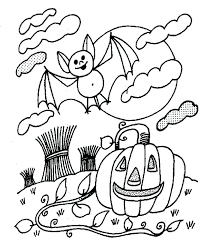 Disney Halloween Coloring Pages Printable Free Good Color On For Adults With Your Print