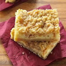 Pumpkin Swirl Cheesecake Bars by Cheesecake Bars Taste Of Home
