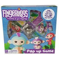 Fingerlings Pop Up Game