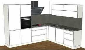 nolte weiß grifflose küchen inkl e gerät